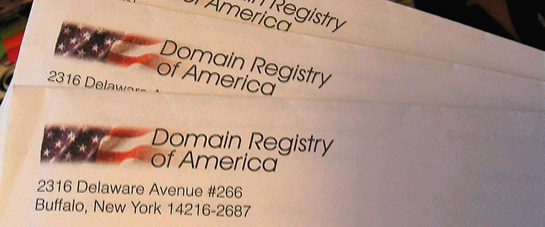 Domain Registry of America Scam
